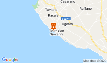 Map Ugento - Torre San Giovanni Apartment 108077