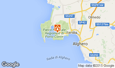 Map Alghero Apartment 98067