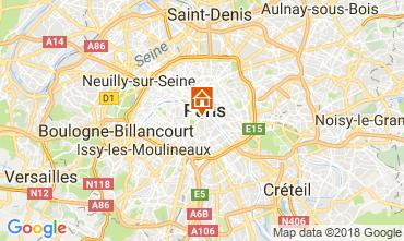 Map PARIS One-room apartment 113449