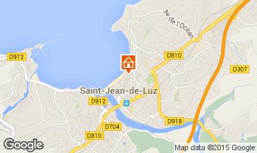 Map Saint Jean de Luz One-room apartment 79238