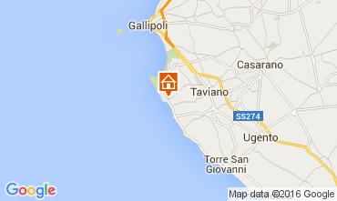 Map Gallipoli Villa 82008