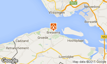 Map Breskens Apartment 47117