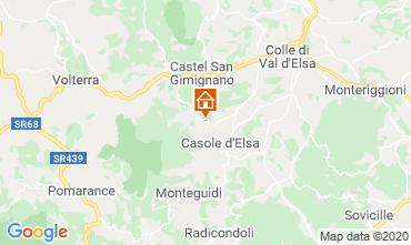 Map Casole d'Elsa Apartment 94340