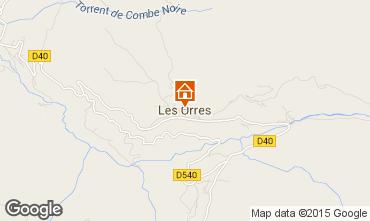Map Les Orres Apartment 26650
