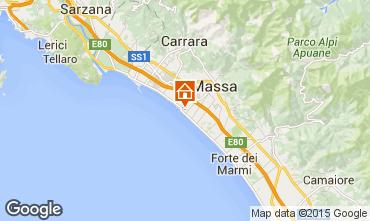 Map Marina di Massa Apartment 87862