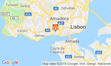 Map Lisbon Apartment 86633