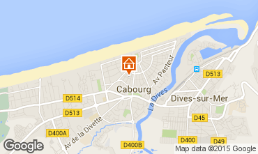 Map Cabourg House 98078