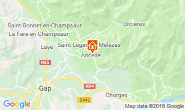 Map Ancelle Chalet 116834