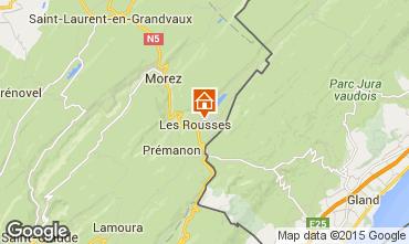 Map Les Rousses Apartment 58502