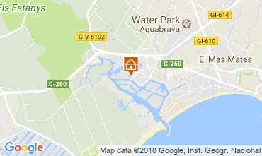 Map Rosas Apartment 111498
