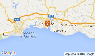 Map Praia da Rocha Apartment 65069