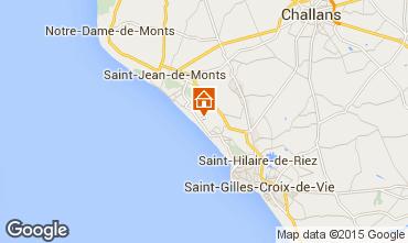Map Saint Jean de Monts Mobile home 60835