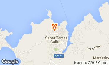 Map Santa Teresa di Gallura Apartment 74770