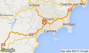 Map Le Cannet Apartment 60833