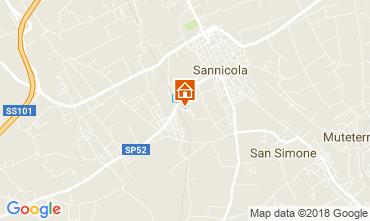 Map Gallipoli Villa 113925