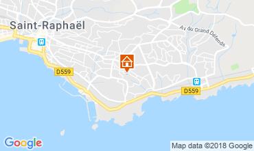 Map Saint Raphael Villa 116765