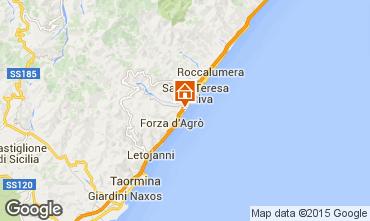 Map Taormina Apartment 53246