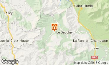 Map La joue du Loup Chalet 15444