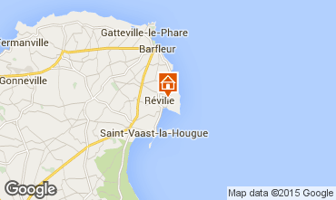 Map Saint Vaast la Hougue Vacation rental 70956