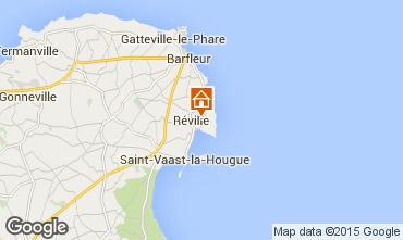 Map Saint Vaast la Hougue Vacation rental 70956