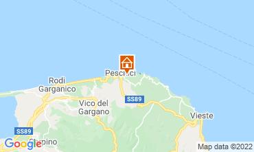 Map Peschici Apartment 76980