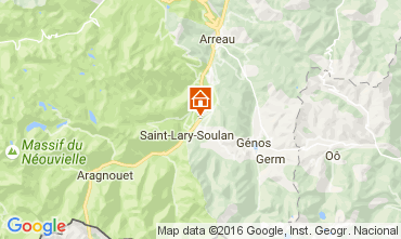 Map Saint Lary Soulan Villa 81833