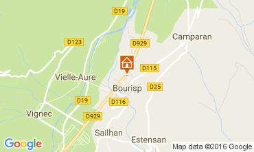 Map Saint Lary Soulan Villa 81833