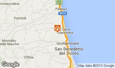 Map Cupra Marittima Apartment 54986