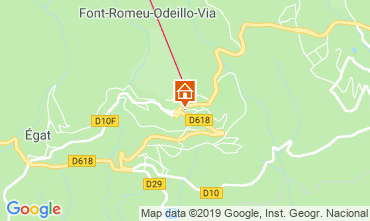 Map Font Romeu Apartment 69937