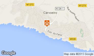 Map Carvoeiro Apartment 54245