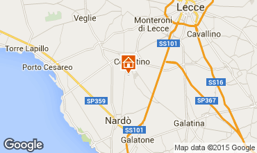 Map Porto Cesareo Apartment 62353