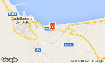 Map Castellammare del Golfo Apartment 33477