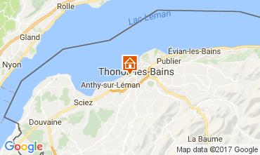 Map Thonon Les Bains One-room apartment 108306