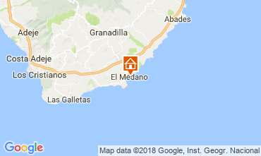 Map El Medano Apartment 114545