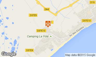 Map Valras-Plage Villa 89478