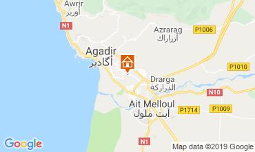 Map Agadir Apartment 115125