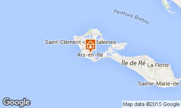 Map Ars en Ré House 6972