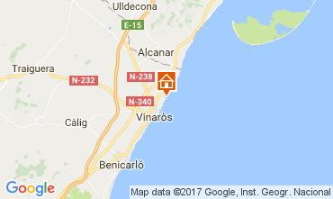 Map Vinaròs Villa 97392