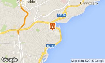 Map Catania Apartment 31264