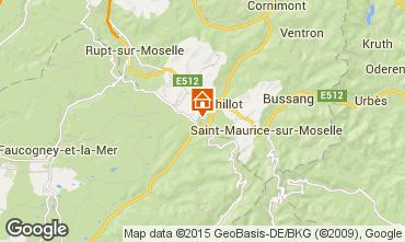 Map La Bresse Hohneck Apartment 4533