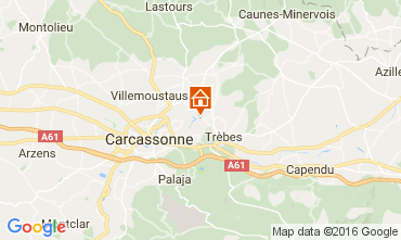 Map Carcassonne House 85902
