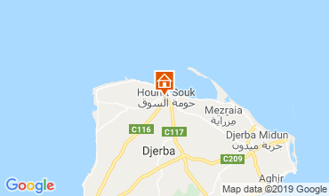 Map Djerba Apartment 53348