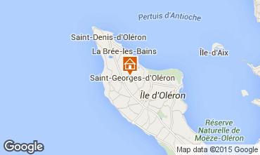 Map Saint Georges d'Ol�ron Villa 101980