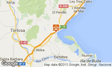 Map L'ampolla Villa 59145