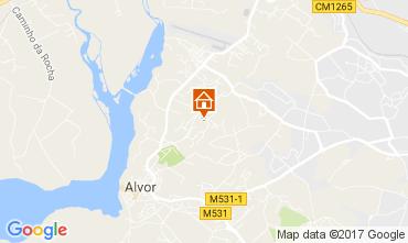 Map Alvor Apartment 109738