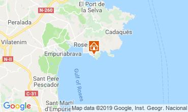 Map Rosas Apartment 118732