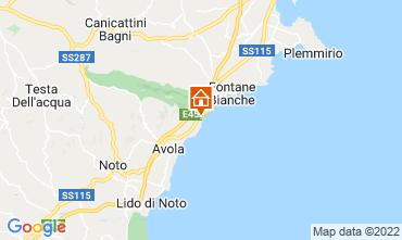 Map Avola Apartment 68419