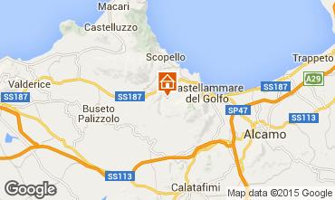Map Castellammare del Golfo Villa 77449