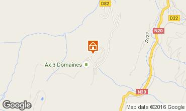 Map Ax Les Thermes Apartment 3908