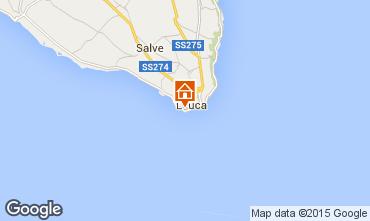 Map Santa Maria di Leuca One-room apartment 77752